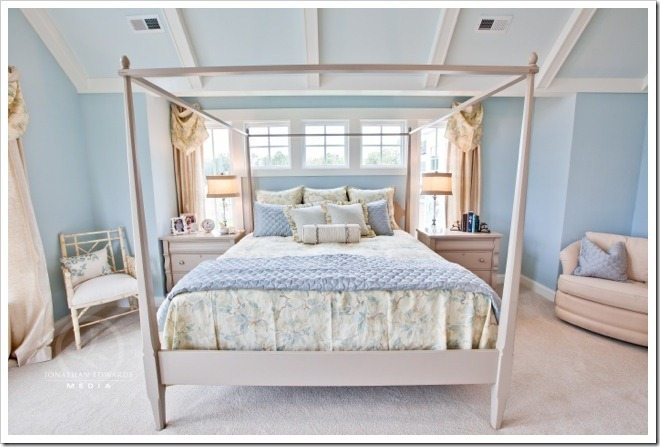 Master Bedroom -Decorating a Dream Home - www.sandandsisal.com