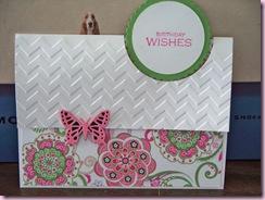 Birthday fold