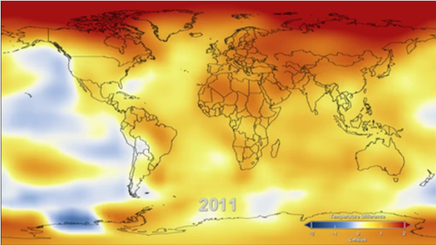NASA - Video of 2011 - 9th warmest year