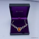 Gemstone Knot Pendant