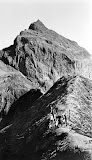 Europeans climbing Gunung Kelud (unknown photographer, 1907-1931) Courtesy TropenMuseum Archives