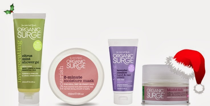 Organic surge Christmas beauty bloggers bundle