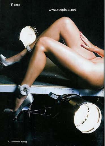 Cristina Areia Na Playboy De Outubro