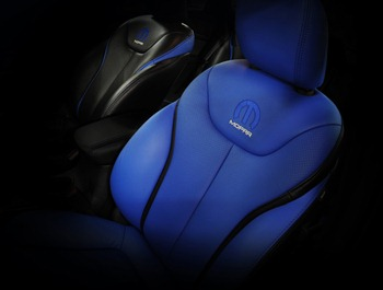 Have a seat. Chrysler Group LLC gives a glimpse inside of the new Mopar '13.