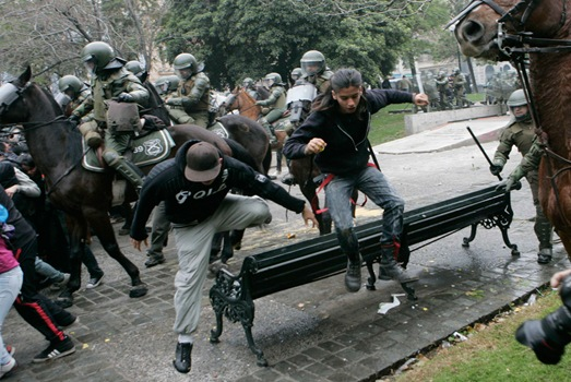 CHILE-POLITICS/STRIKE