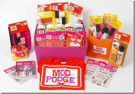 Mod Podge Prize Package