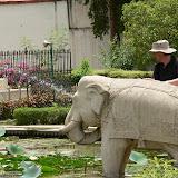 Fontaine du jardin  Sahelion-ki-Bari
