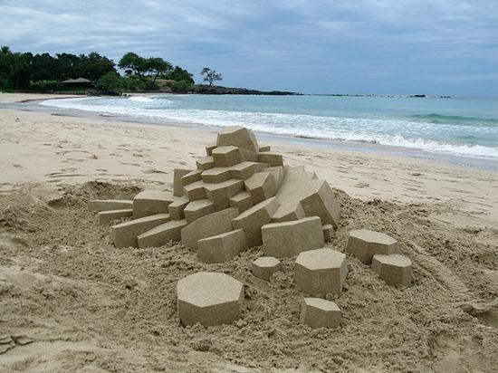 Castelos de areia geometricos (5)