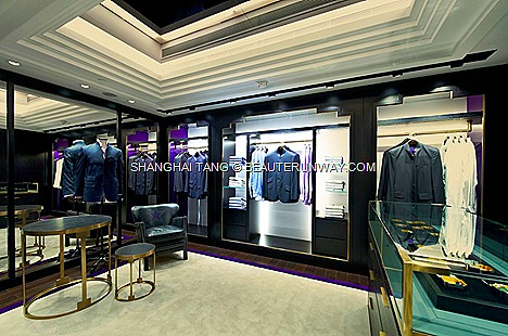 THE SHANGHAI TANG MANSION FLAGSHIP HONG KONG AT 1 DUDDELL STREET SPRING SUMMER 2012 MENSWEAR Jacket shirt suit pants leather shoes accessories bag Imperial Collection fine suiting