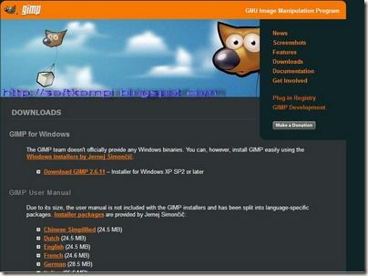 website gimp