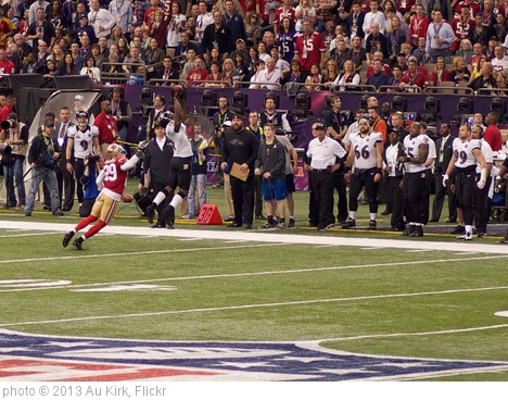 Anquan Boldin Catch During Super Bowl XLVII' photo (c) 2013, Au Kirk