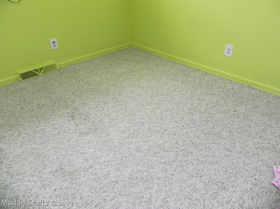 before wall to wall carpet