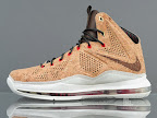 nike lebron 10 gr cork championship 12 02 @KingJames Wears NSWs Nike LeBron X Cork Off the Court