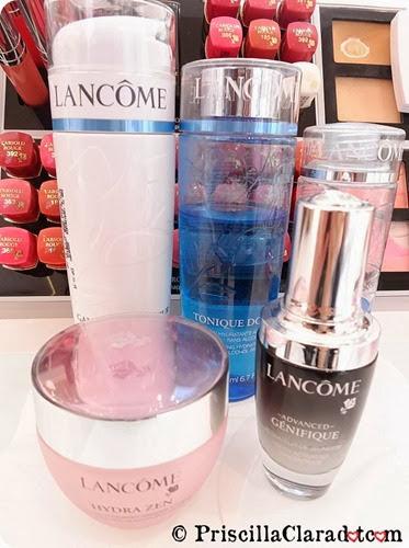 Priscilla Makeup Contest Lancome Alber Elbaz skincare