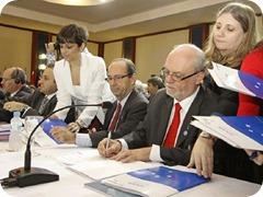 Cerimonia de assinatura de atos do Conselho do Mercado Comum