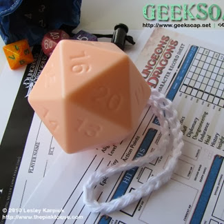 D20 Soap from Geek Soap