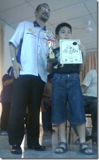 Tan Yik Chean, U-10 champion