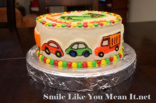 Car Cake Side 1