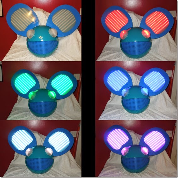 Deadmau5 Head 1 Collage