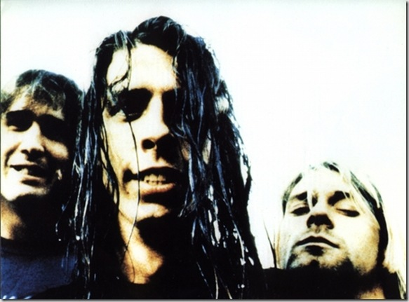 On today in 1991 Nirvana is photographed by Niels Van Iperen in Rotterdam, The Netherlands.