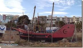 Barcaza de la fiesta de moros y cristianos de Vila Joiosa