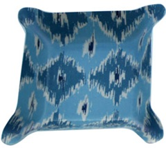 blue-ikat-pinched-bowl zhush-com
