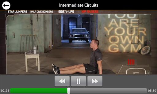 Mark Laurens Intermediate DVD - screenshot