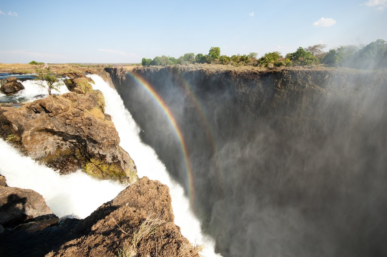 Zambia side of Victoria Falls
