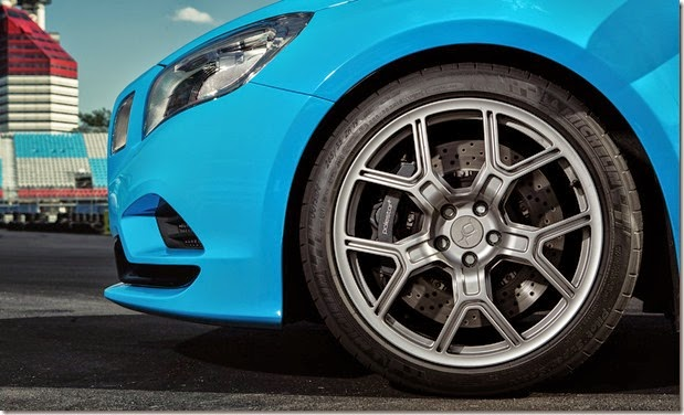 Michelin PSS Polestar Closeup