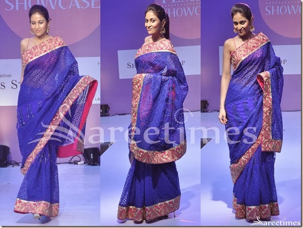 Blue_Embellished_Saree