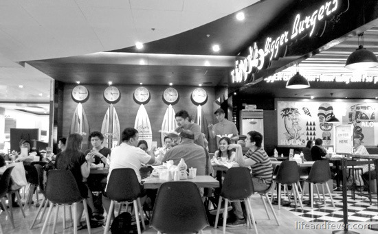 Teddy's Bigger Burgers EDSA Shangri-La