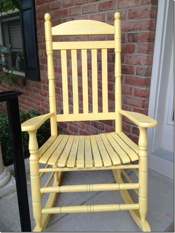 sale yellow chair 025