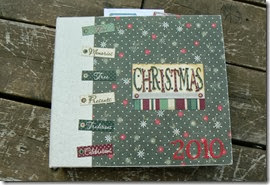 december daily 2010 album pages