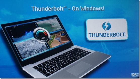 TECH NEWS Windows Will Finally Get Apple's Thunderbolt Technology in 2012