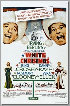 1 white christmas movie poster