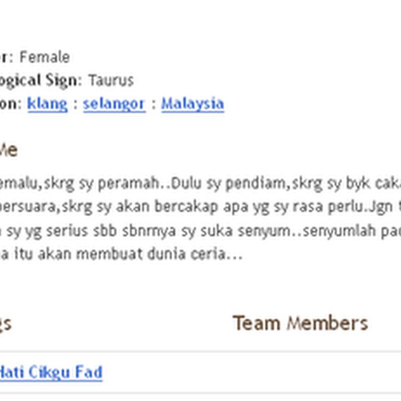 Blogger Pilihan ...