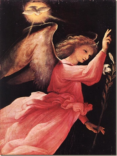 Angel Annunciating