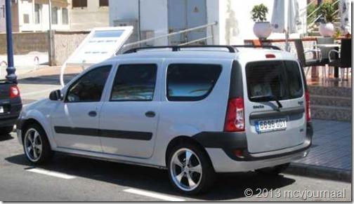 Dacia Logan MCV op Gran Canaria 03