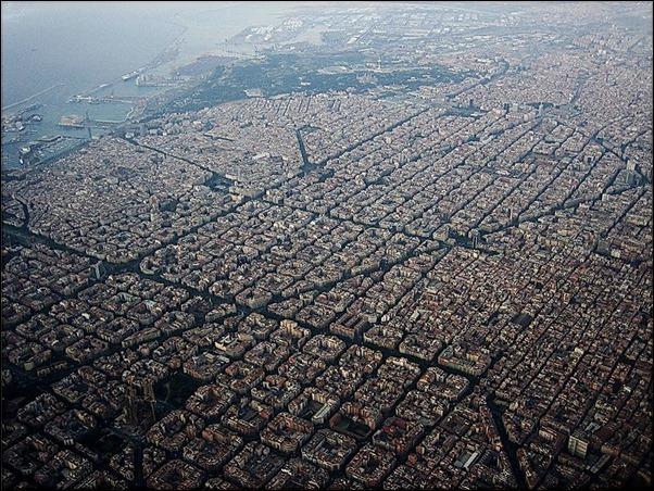 صور جوية برشلونة