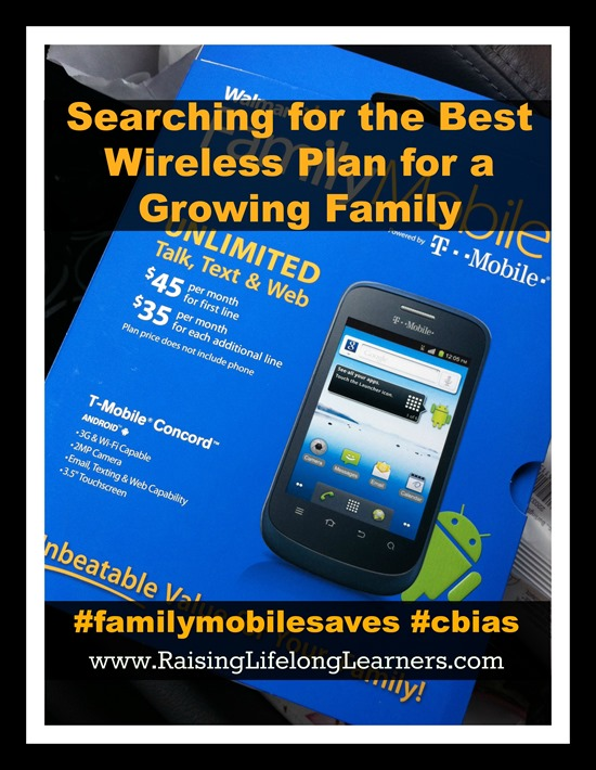 Searching for the Best Wireless Plan for a Growing Family