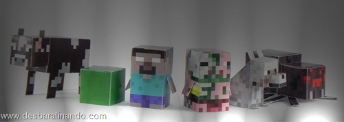 Paper Toys minecraft pack 2