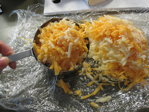 Grated cheese combo.