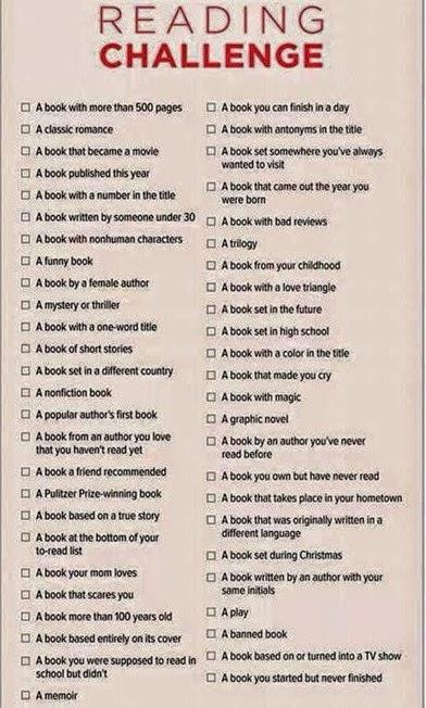 book challenge 2015