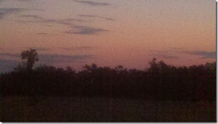 17 miles sunrise