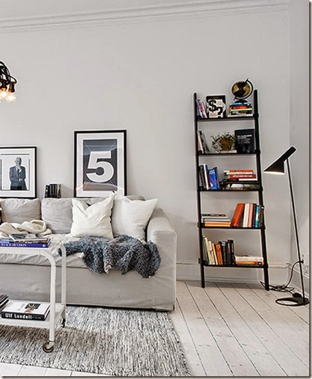 scandinavian-style-3-living-area-with-ladder-bookcase