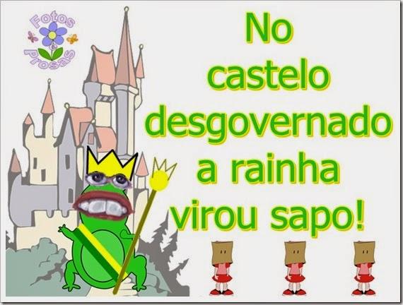 castelo desgovernado