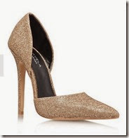 Carvela Glitter Gold Courts