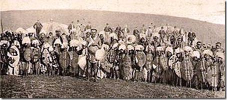 Guerreiros Zulus