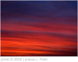 '~ red sky ~' photo (c) 2008, { pranav } - license: http://creativecommons.org/licenses/by/2.0/