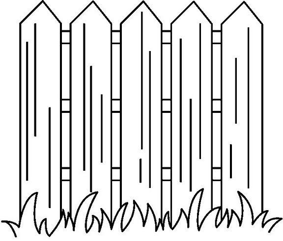 Dibujos de vallas para colorear for Imagen de vallas